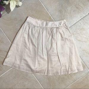 J.Crew beige skirt cotton light weight mini #150